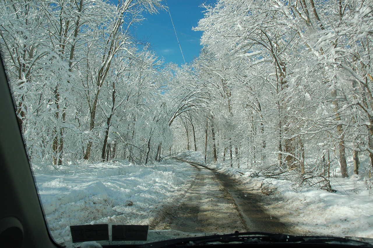 Sewickley Creek Road on Sunday.