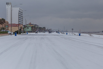 Snow in Galveston #6
