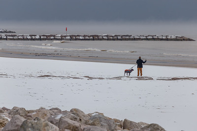 Snow in Galveston #7