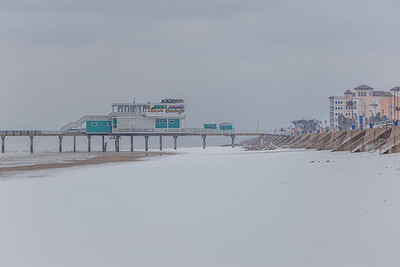 Snow in Galveston #3