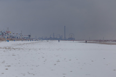 Snow in Galveston #4