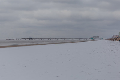 Snow in Galveston #2