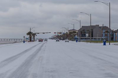 Snow in Galveston #5