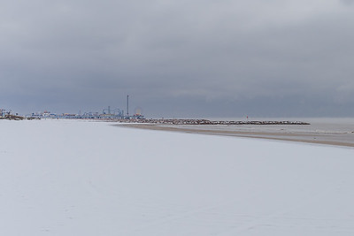 Snow in Galveston #10