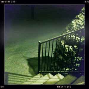 Sunday night, around 10ish.  One hour or so after it started. And this is our front porch.
