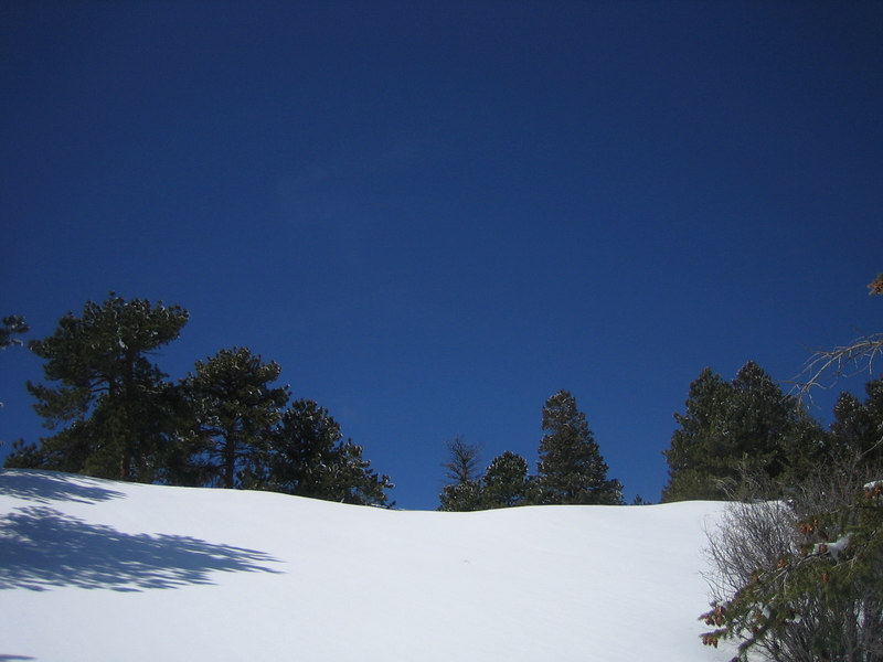Snowshoeing near MRS station, North of Nederland, CO