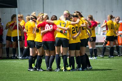 NKU Women's Soccer vs Morehead 8-24-2014
