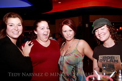 Patricia (L), Susan, Marie & Jennifer (R)