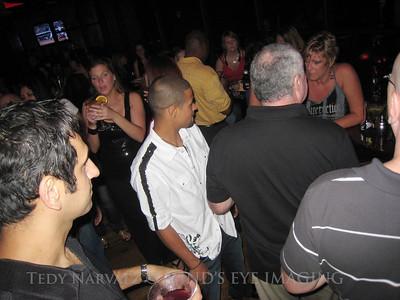 Mx Social attendees mingling