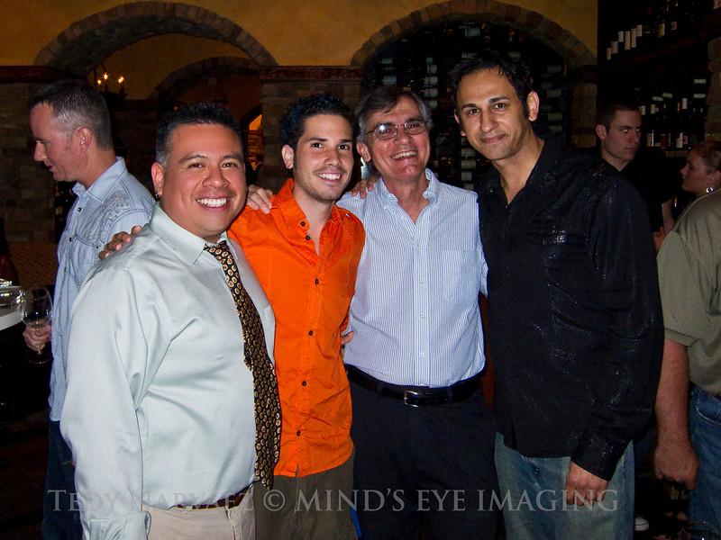 Me, Rico, Dana & Norm