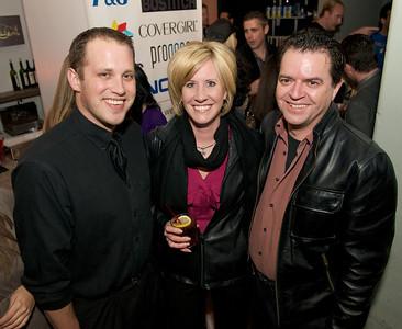 Travis, Shannon and Rolf at Bang