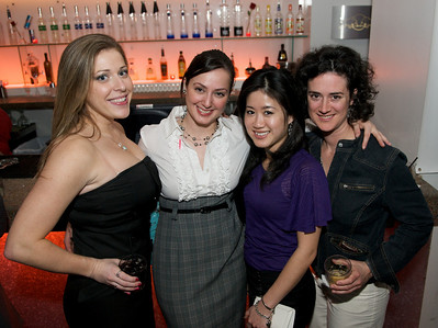Megan, Tuba, Jane and Wendy at Bang
