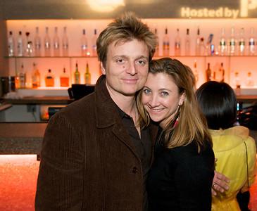 Cynthia Henderson and Matt Fenik at Bang