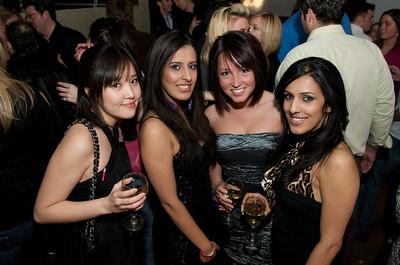 Vicki Oh, Meg Vyas, Brittany Hill and Lekha Vyas of Cincinnati at Bang