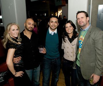 Megan, Darren, Jaydev, Missy and Tim at Bang