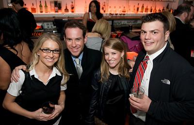 Janet Glass, Michael Altman, Megan Selnick and Alec Grosvenor at Bang
