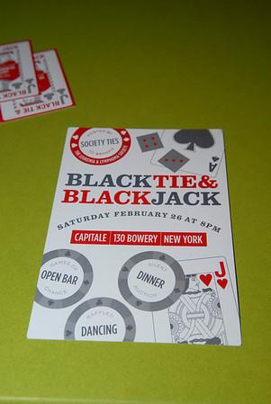 society ties black tie and blackjack kickoff 2 2 11