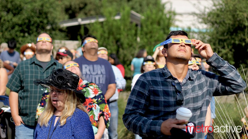 August 2017 Solar Eclipse at Rosicrucian Egyptian Museum