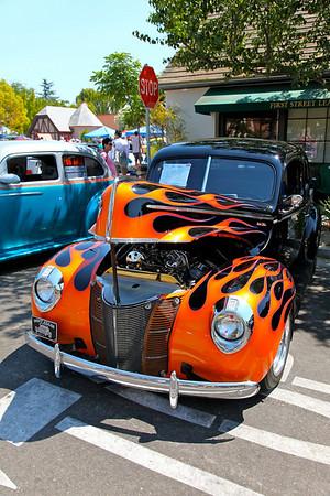 Solvang Car Show Oct 2009