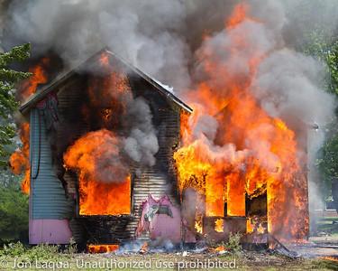 Somerset House Burn