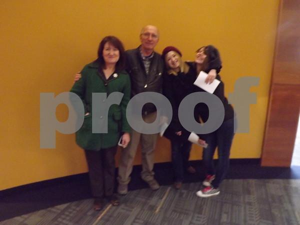 Ellen and Curt Green, Alice Gaines, and Sarah Schmider.
