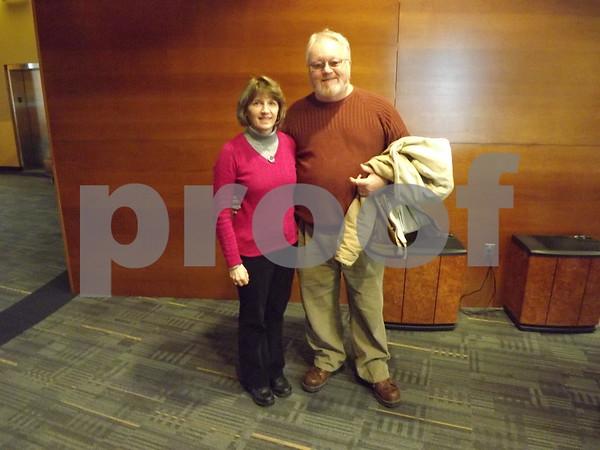 Deb and Bob Hamlow.