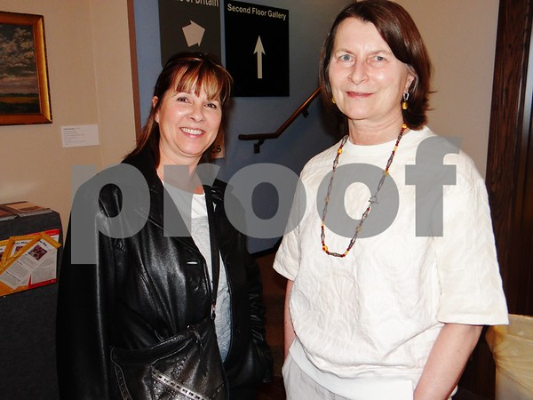 Nancy Thompson and Maggie Skor