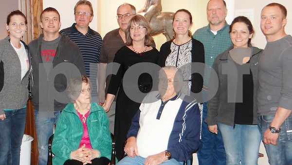 Nicky Busse, Samson Searcy, T.J. Peterson, Dann Johnson, Sonja Johnson, Heidi Parcel, Tim Parcel, Allison Searcy, Isaac Searcy, Marilyn Peterson, and Phillip Peterson.