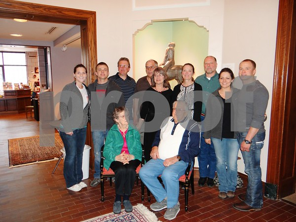 Nicky Busse, Samson Searcy, T.J. Peterson, Dann Johnson, Sonja Johnson, Heidi Parcel, Tim Parcel, Allison Searcy, Isaac Searcy, Marilyn Peterson, and Phillip Peterson. (Sonja Johnson's Family)