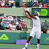 Defeated 6-3, 6-4 by 10th ranked John Isner (USA),  in the third round of the Sony Open,  Donald Young (USA) is one to look out for in the future.