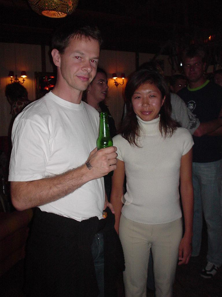 Yves and his wife Makiko