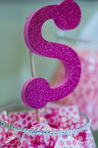 Baby Shower decorations for Soraya's baby shower at Hidden Creek Recreation Center.