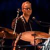 Håkon Kristiansen on percussion