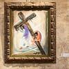 Simon Helps Jesus Carry His Cross, Station V