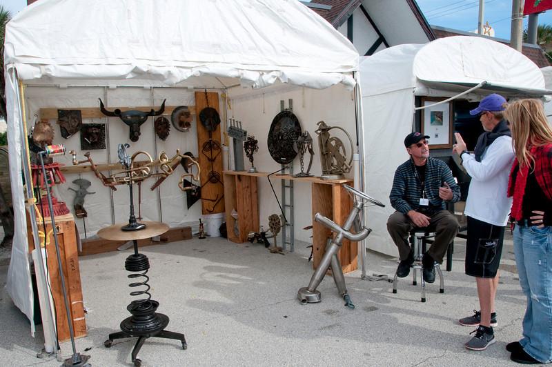 Space Coast Art Festival Artist's Booths
