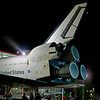 The shuttle is huge.