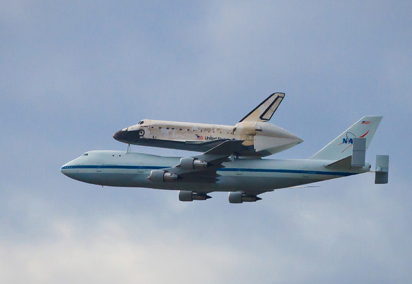 Final flight of Space Shuttle Discovery - 4 passes over the National Mall