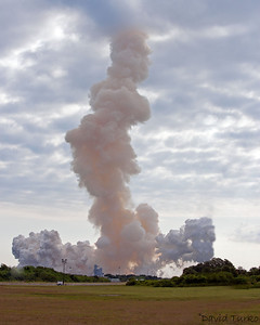 Endeavours is gone in seconds.  Final Voyage STS 134