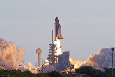 Space Shuttle Endeavour~Final Mission STS 134, Picture captured at the Turn Basin