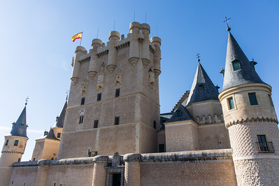Alcázar de Segovia.  If this looks familiar this castle was one of the inspairations for the Disney castle