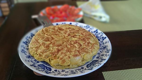 Torta de patatas Española