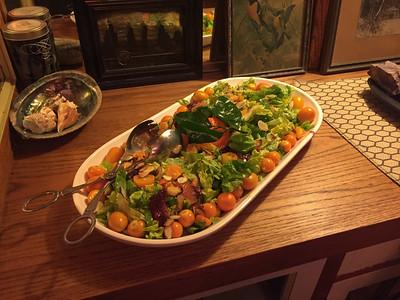 Orange citrus salad