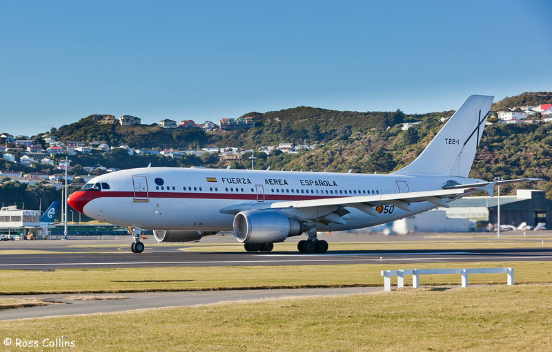 The Spanish King and Queen depart from Wellington on 24 June 2009