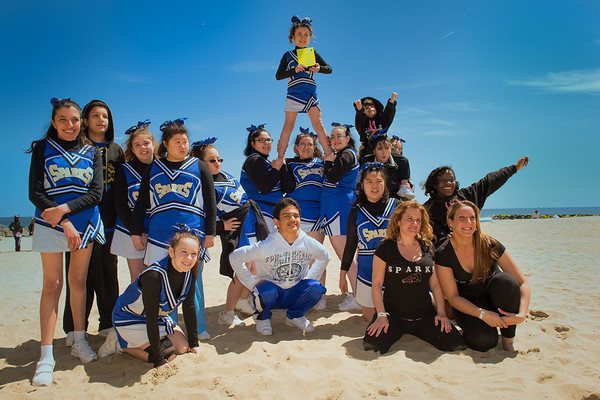 Sparks Cheerleading Competition-Asbury Park, NJ 4.21.13