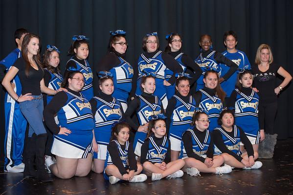 Sparks Cheerleading Woodbridge Competition-1.26.14