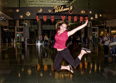 @marcykellar | Vegas Airport