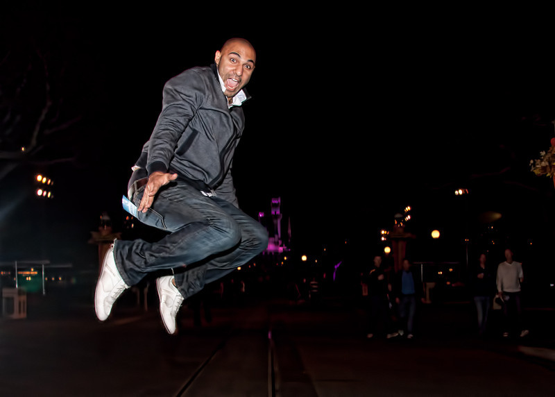 Mo is always game for jumpshots