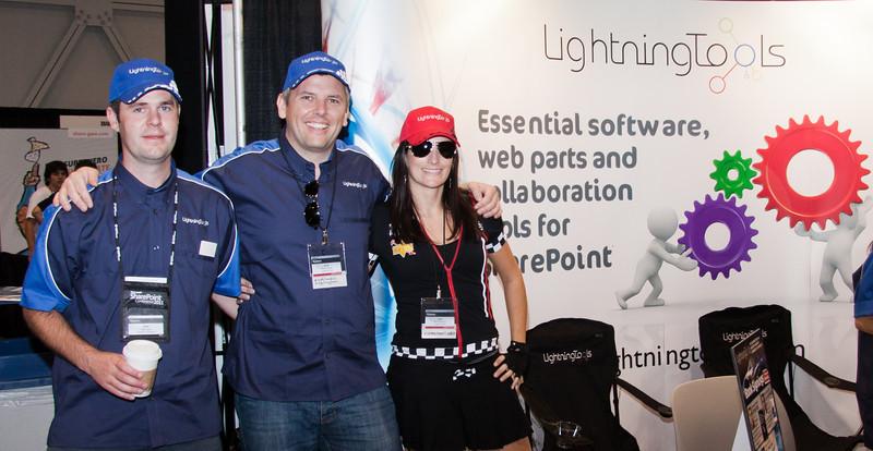 Lightning tools booth