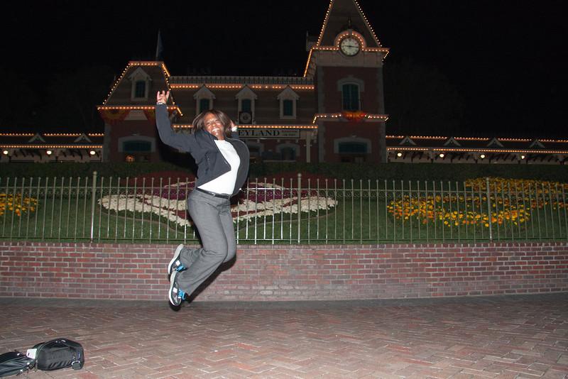 Nedra Allmond's first jumpshot