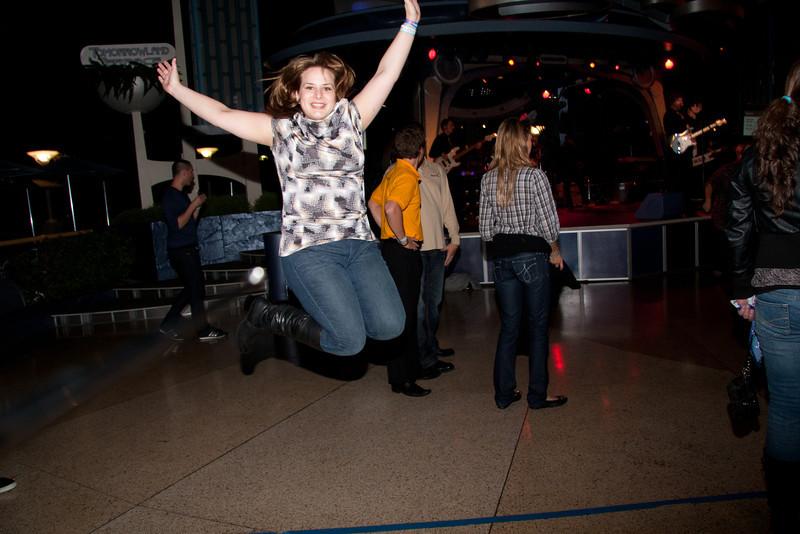 Kristina Rocks it with this jump